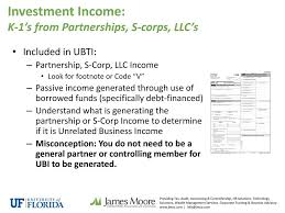 Uf Ubit Unrelated Business Income Tax Ppt Download