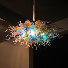 venetian glass pendant lights multi