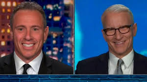 I acknowledge some of the things i have said have been misinterpreted as an unwanted flirtation. Anderson Cooper Can T Stop Smiling While Telling Chris Cuomo About Awesome First Weekend With Baby Wyatt Entertainment Tonight