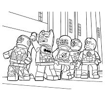 Lego Kleurplaat Brandweer Leuk Voor Kids Brandweer Kleurplaten