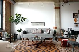 industrial style living room furniture. Industrial Living Room Furniture View In Gallery Contemporary With And Touches Design Style L