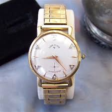 vintage 14k solid gold lord elgin mens shockmaster wrist watch vintage 14k solid gold lord elgin mens shockmaster wrist watch 6 genuine diamonds 23