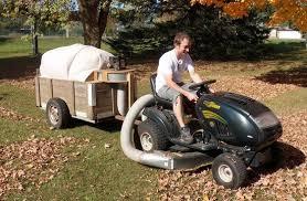 riding mower leaf vacuum.  Riding Leaf Vacuum Trailer Absolutely Wonderful IDEA Inside Riding Mower K