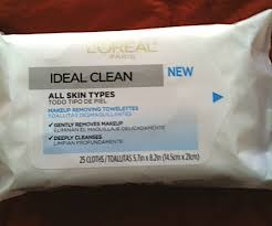 review l oréal ideal clean makeup removing towelettes best wipes for normal