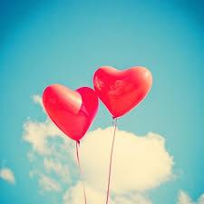 balloon heart love red romantic