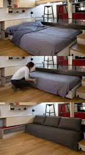 Bedroom: Pull Down Space Saving Bed - Bedrooms