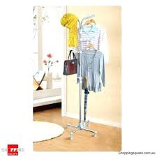 Kmart Coat Rack Adorable Portable Clothes Rack Folding With Cover Home Newest Beautiful