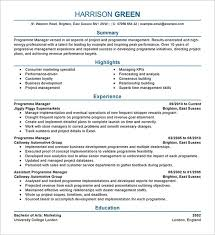 It Manager Resume Template Stunning 28 Manager Resume Templates DOC PDF Free Premium Templates