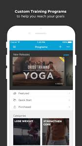 workout trainer fitness coach app for