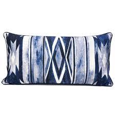 navy blue lumbar pillow. Interesting Lumbar Southwest Lumbar Pillow In Navy Blue Throughout E