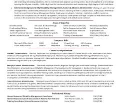 Hr Executive Resume Samples Cover Letter Human Resources Assistant