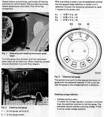 vw manual page 2 checking fuel gauge and voltage stabilizer