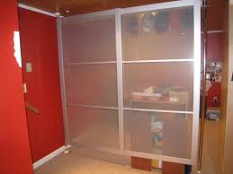 sliding ikea hack really cool wall partition pics included