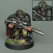 Marines Scout Sniper Requirements Coolminiornot Space Marine Scout Sniper By Griffinpainting