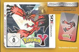 Pokémon Y 3DS DEUTSCH PREMIUM EDITION mit Schutzhülle / Soft Etui für die  Konsole LIMITED EDITION: Amazon.de: Games