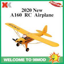 --<b>Xk A160 Rc</b> Pesawat Terbang 2.4g 5ch 6-axis Brushless Motor ...