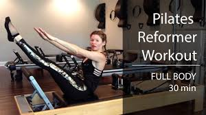 pilates reformer workout full body sequence
