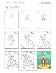 draw a monkey jpeg