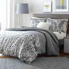 city scene branches gray comforter and duvet set from bedding