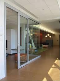 glass office doors. Sliding Glass Office Doors Complement Open-Office Space