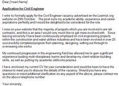 cover letter for engineering job civil engineer cover letter example cover letter examples pinterest