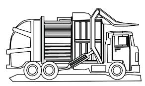 Small Picture Fancy Design Ideas Garbage Truck Coloring Page Printable Garbage