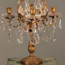 rustic 4 arm table chandelier with candles