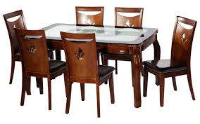 glass dining table designs india