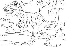 Small Picture T rex coloring pages jurassic park ColoringStar