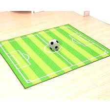 football area rug field carpet soccer ground kids for kid in living room australia large size