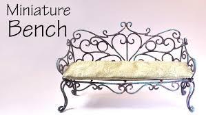 making doll furniture. Miniature Furniture; Vintage/Romantic Bench Tutorial - Dolls/Dollhouse YouTube Making Doll Furniture