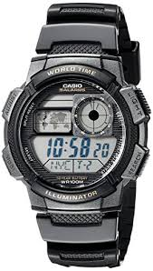 amazon com casio men s ae 1000w 1avcf resin sport watch amazon com casio men s ae 1000w 1avcf resin sport watch black band classic watches