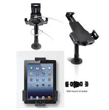 anti theft countertop desk wall mount stand kiosk for ipad mini 2 3 4 air tablet