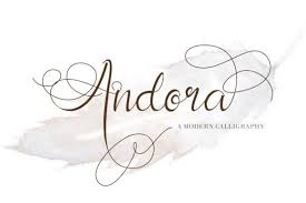 Download the best free fonts including the basic, script, handwritten, brush, calligraphy, sans serif and all other fonts for personal & commercial use. Andora Font By Thomasaradea Creative Fabrica Free Script Fonts Best Free Fonts Free Font