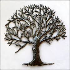 metal tree wall art