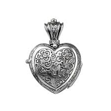 gerochristo 3219n sterling silver engraved heart locket pendant