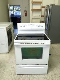 white glass top stoves wonderful kitchen whirlpool glass top electric stove appliances in inside whirlpool glass top stove attractive frigidaire white glass