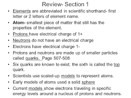 Properties Of Atoms And The Periodic Table 39 Properties Of Atoms ...