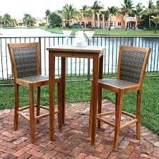 tall patio table. Outstanding Best Patio Furniture Ideas On Starry Tall Outdoor Bistro Table Set With Regard To