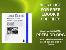 Design Patterns Elements Of Reusable ObjectOriented Software Pdf Interesting Design Patterns Elements Of Reusable Object Oriented Software YouTube