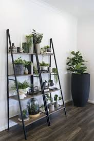 Kmart Industrielle Leiter Regal Indoor Vertikale Garten Ideen