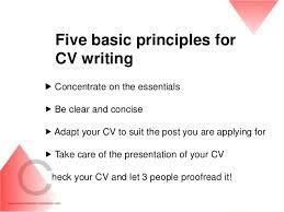 Writing A Cv Cv Resume Writing Career Development