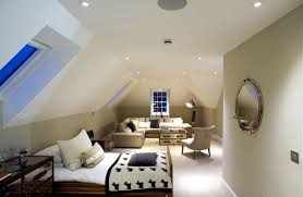 roof lighting design. design rooms with pitched roof to feel good lighting