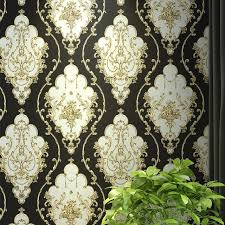 victorian wallpaper. Wonderful Victorian RedBlueBlack Gold Victorian Classic European Floral Damask Wallpaper 3d  Stereo Vinyl Wall In