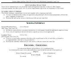 Lpn Resumes Templates Amazing Lpn Resume Objective Summary New Graduate Best Template Skills