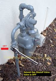 relight gas fireplace pilot light by how to install a natural gas shutoff valve for a