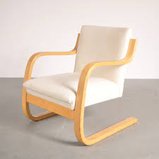 lounge chair by alvar aalto for artek 1950s