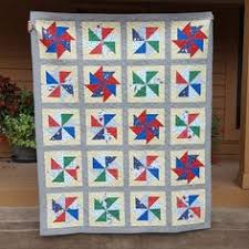 Old City Gates Quilt Pattern | Quilts | Pinterest | Patterns and ... & Windmill Quilt for Dad Adamdwight.com