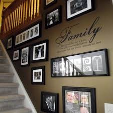 must try stair wall decoration ideas 9