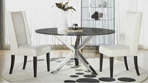 Round Smoked Glass Dining Table Crackled 60 Round Dining Table Top Zuri Furniture